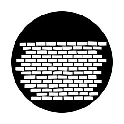 Rosco GAM Steel Gobo - Brick Wall