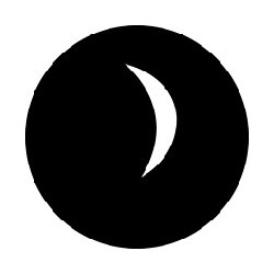 Rosco GAM Steel Gobo - Crescent Moon