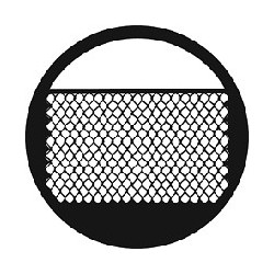 Rosco GAM Steel Gobo - Chain Link Fence