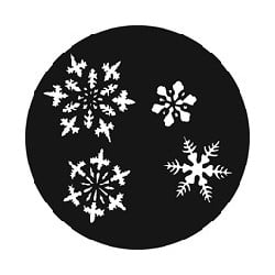 Rosco GAM Steel Gobo - Small Snowflakes