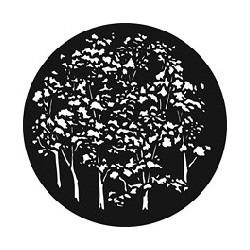 Rosco GAM Steel Gobo - Reversed Trees