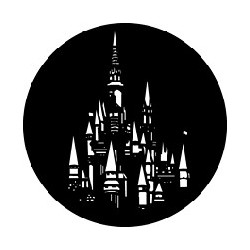 Rosco GAM Steel Gobo - Fantasy Castle