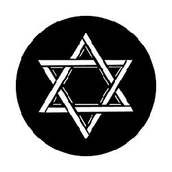 Rosco GAM Steel Gobo - Star of David