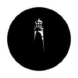 Rosco GAM Steel Gobo - Light House