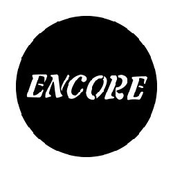 Rosco GAM Steel Gobo - Encore