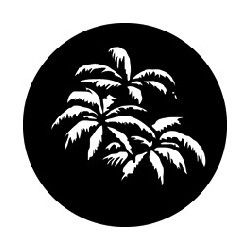 Rosco GAM Steel Gobo - Palm Leaves