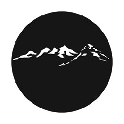 Rosco GAM Steel Gobo - Mountain Peaks