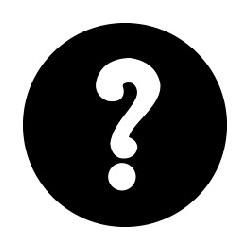 Rosco GAM Steel Gobo - Question Mark