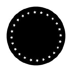 Rosco GAM Steel Gobo - Circle of Stars
