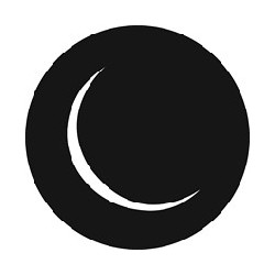 Rosco GAM Steel Gobo - Circle Moon