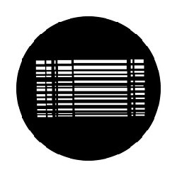 Rosco GAM Steel Gobo - Grid