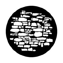 Rosco GAM Steel Gobo - Old Stones