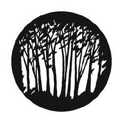 Rosco GAM Steel Gobo - Slender Trees