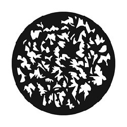 Rosco GAM Steel Gobo - Sharp Foliage