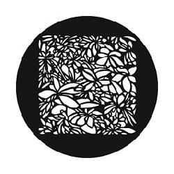 Rosco GAM Steel Gobo - Leaf Pattern SQ