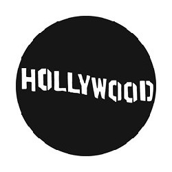 Rosco GAM Steel Gobo - Hollywood Sign
