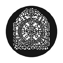 Rosco GAM Steel Gobo - Lace Medallion