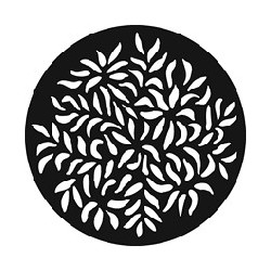 Rosco GAM Steel Gobo - Open Leaves 2