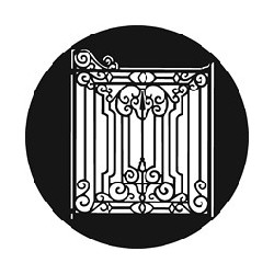 Rosco GAM Steel Gobo - Iron Gate