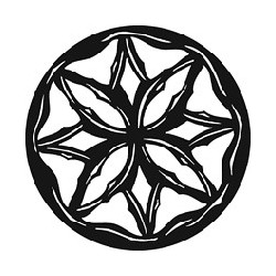 Rosco GAM Steel Gobo - Carved Rosette