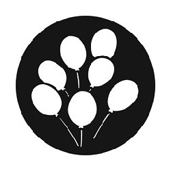 Rosco GAM Steel Gobo - Large Balloons