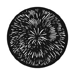 Rosco GAM Steel Gobo - Big Burst