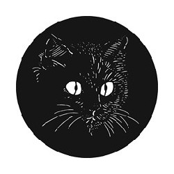 Rosco GAM Steel Gobo - El Gato the Cat