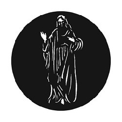 Rosco GAM Steel Gobo - Christ Risen