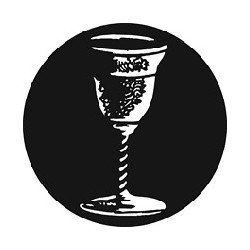 Rosco GAM Steel Gobo - Sacramental Wine Cup