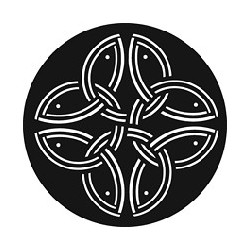 Rosco GAM Steel Gobo - Celtic Vision 1