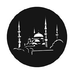 Rosco GAM Steel Gobo - Mosque
