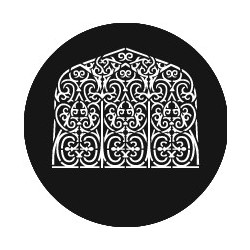 Rosco GAM Steel Gobo - Persian Window