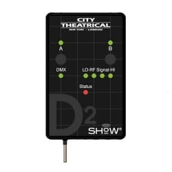 City Theatrical SHoW DMX D2 Dimmer - Wired