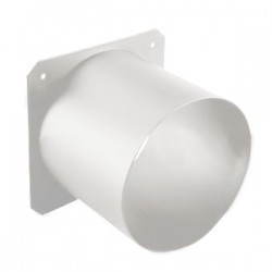 ETC Top Hat - 3in. Tube - White (PSF1022-1)