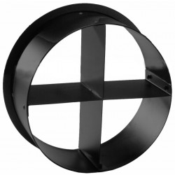 ETC Cross Baffle Top Hat - Black (PSF1031)