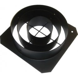 ETC Concentric Ring Top Hat - Black (PSF1035)