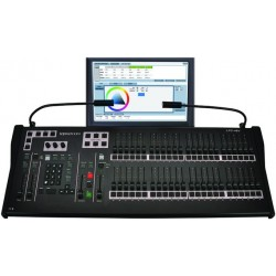 Leprecon LPC-V3 96 Fader Console with Encoders & 19in. Touch Screen