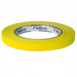 GaffTac Yellow Spike Tape - 12mm x 25m
