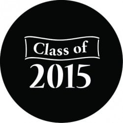 Rosco Steel Gobo - Class of 2014