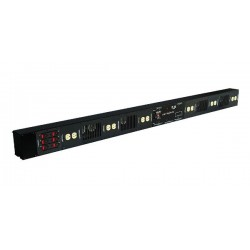 Lightronics Distributed Dimming Bar - 6 Channel 1200W DMX-512 5-Pin
