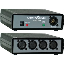Lightronics Portable DMX Opto-Isolator - One Input Four Output DMX-512 5-Pin XLR