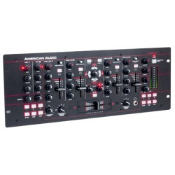 American Audio MXR941 Professional 19-inch Mixer - 4 Channel 3 Mic