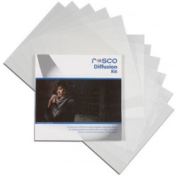 Rosco Diffusion Filter Kit - 12in. x 12in.