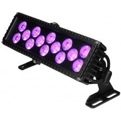 Blizzard LED RGB Outdoor Wash Fixture - Black