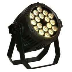 Blizzard LED RGBW Outdoor Par Can with Dimmer and Strobe Effects