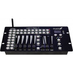 Blizzard 10 Channel DMX Controller with Built-In 2.4Ghz Wireless DMX Transmitter
