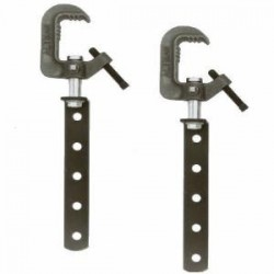 Altman Pair of 10in. Hanging Arms & Heavy Duty C-Clamps