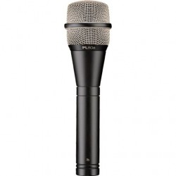 Electro-Voice PL-80a Premium Dynamic Vocal Microphone - Black