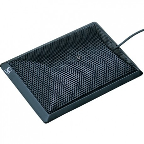 Electro-Voice Half-Cardioid Pattern Boundary Layer Microphone - Black