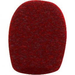 Electro-Voice Red Foam Windscreen Pop Filter